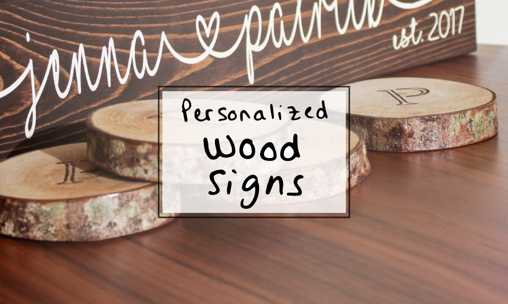 Unique Wedding Gift Idea: Personalized Wood Sign for Couples - a unique wedding gift idea they'll have for life.