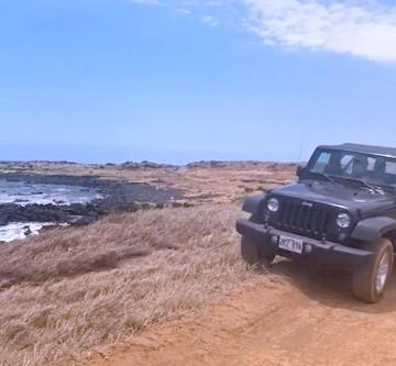 Find Green Sand Beach aka Papakolea Beach on Hawaii's Big Island in South Point
