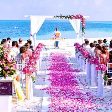 Wedding help How to keep a wedding reception small beach wedding destination min