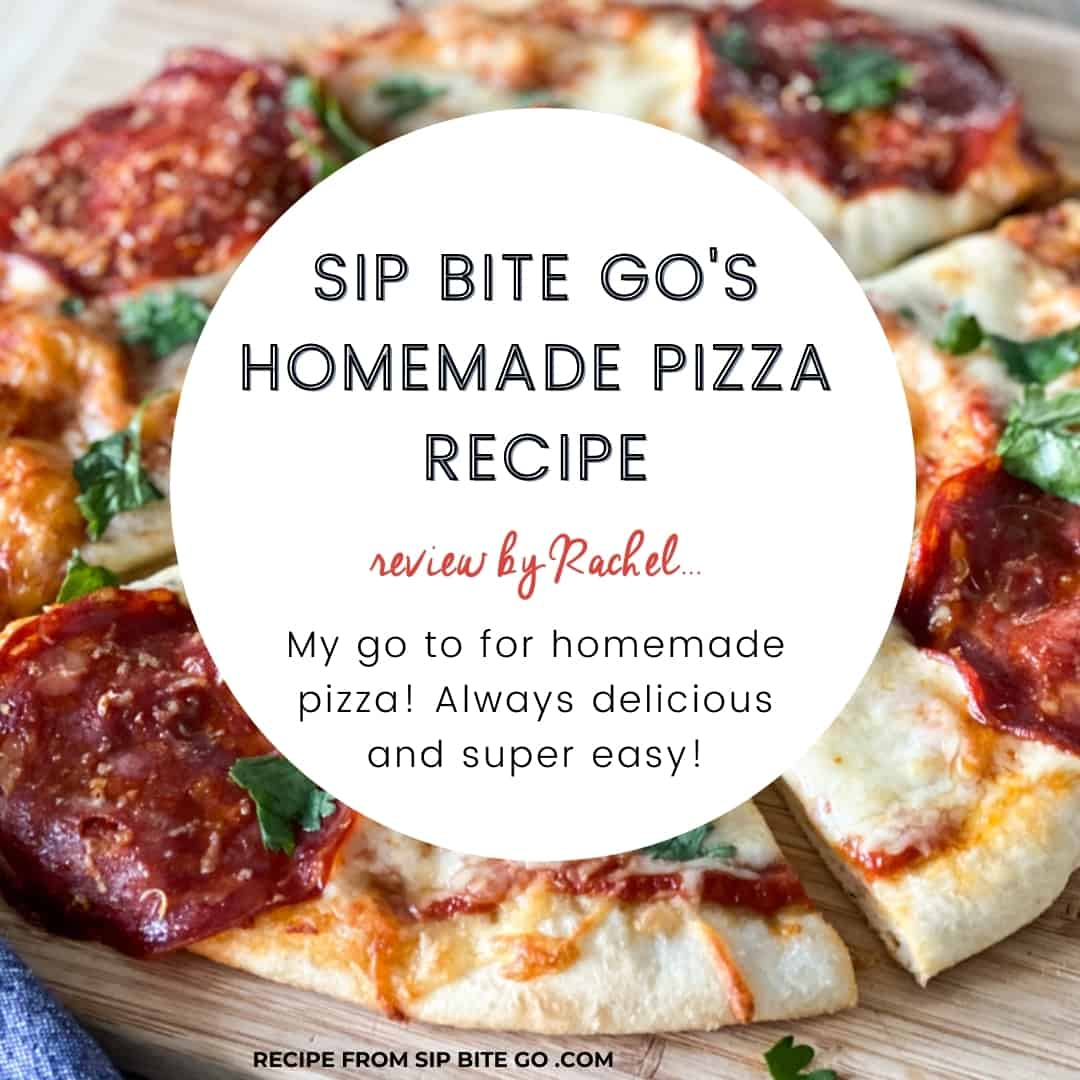 text and image recipe review rhomemade pizza recipe