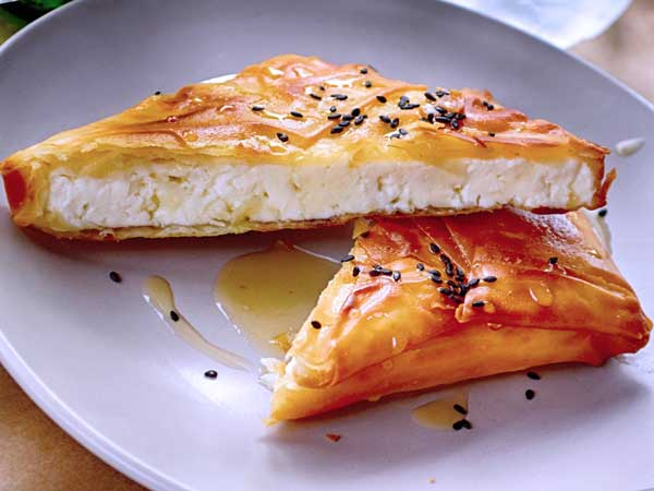 gourmet grilled cheese sandwich ideas with filo dough