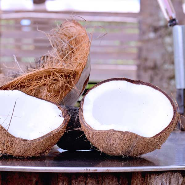 How to open a coconut step by step coconut husking demonstration
