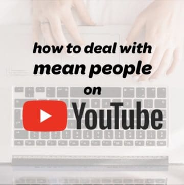 negative youtube comments by an online troll