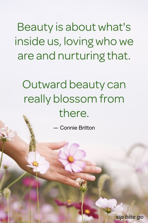 quote about beauty in responding to negative youtube comments