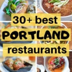 grid of photos of dishes from various Portland restaurants