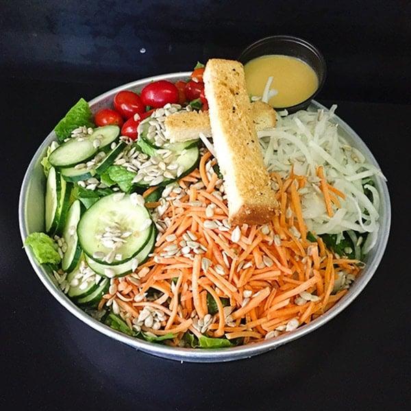 Tilt Portland vegetarian menu option with a big salad