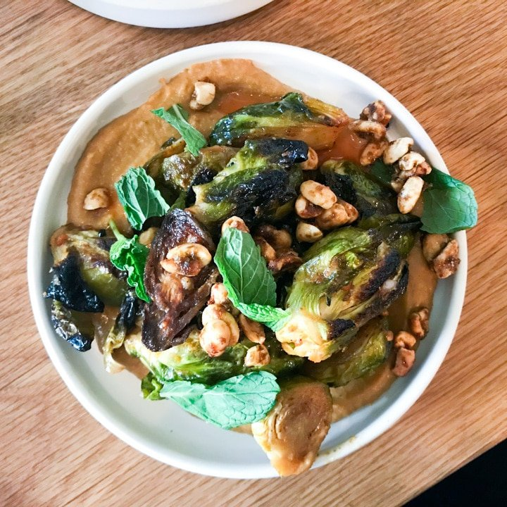 canard lunch brussels sprouts_1815
