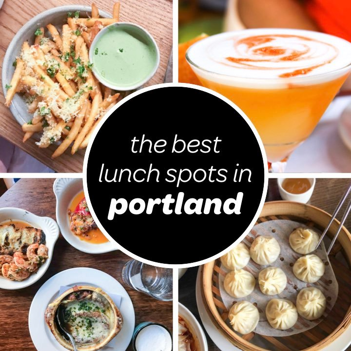 the best lunch restaurants in portland featuring menu items from canard, mother's bistro, thai kitchen and soup dumplings at duck house