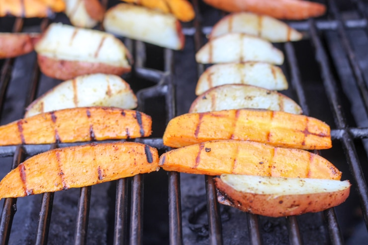 cooking potatoes on the grill without foil