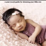 image showing how to dress a baby for summer sleep at night