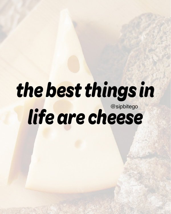 funny quote about cheese
