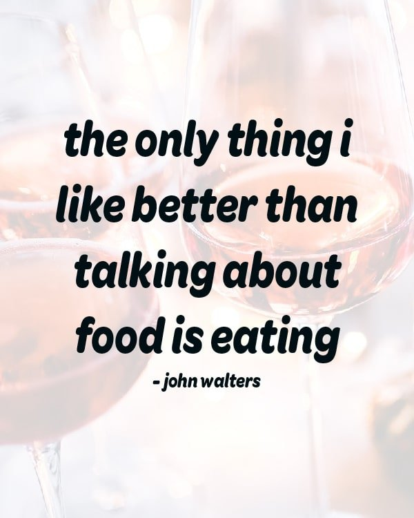 funny quote about eating food