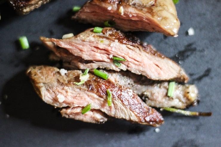 medium sous vide beef kebabs