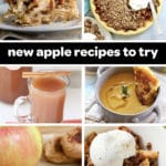 list of new apple recipes to try