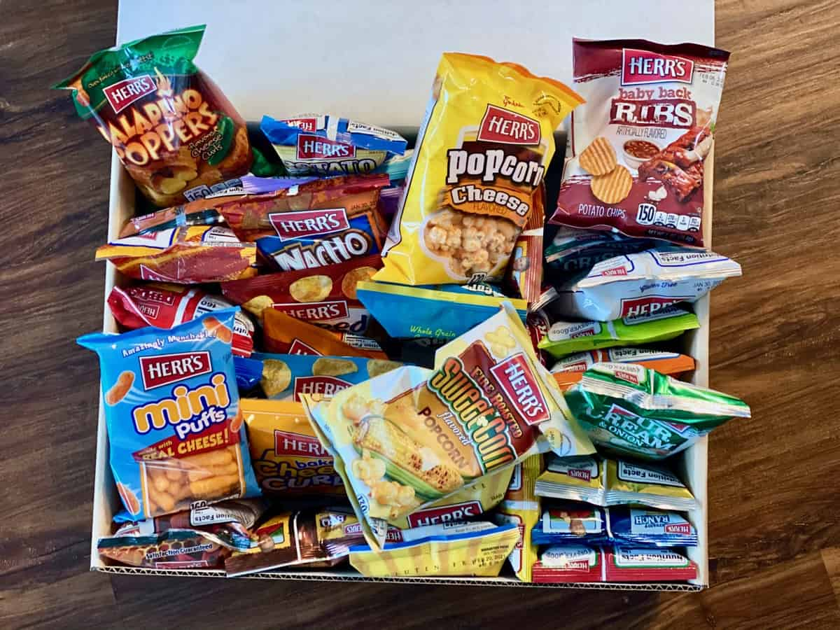 Herr's Chip Snack Gift Box