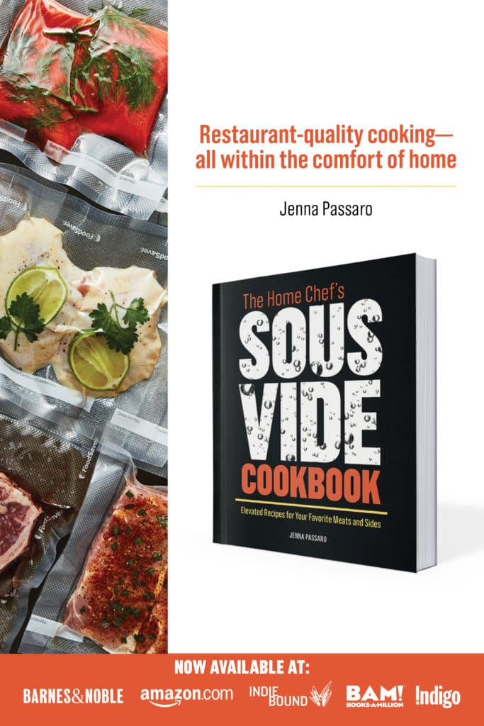 2020 Sous Vide Cookbook by Jenna Passaro