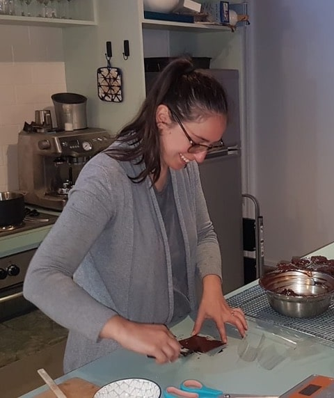 Sylvie from A Baking Journey with blogging tips for food bloggers