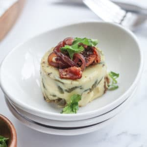 How to Sous Vide Egg Bites with Bacon and Cheese and Caramelized Onion