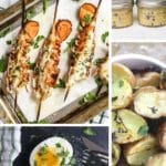 sous vide breakfast recipes collage