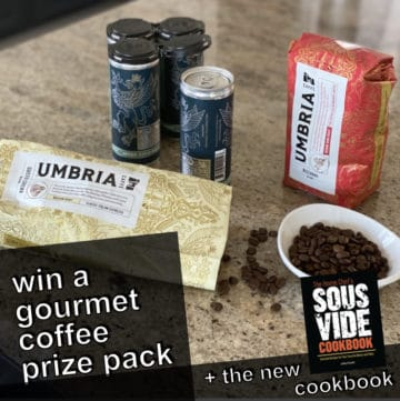 march 2020 giveaway coffee prize with caffe umbria