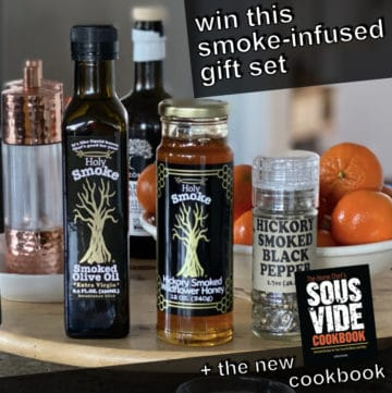 holy smoke olive oil giveaway image