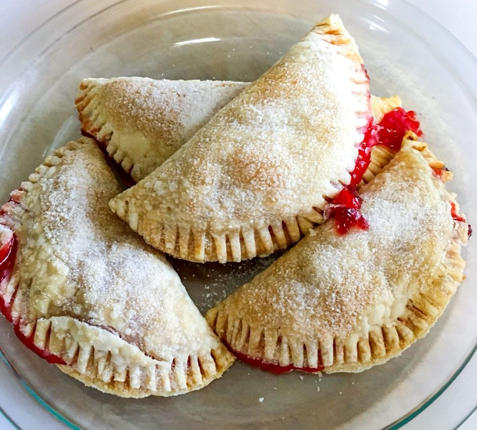 baked turnovers
