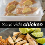 sous vide chicken breast tenders pinterest