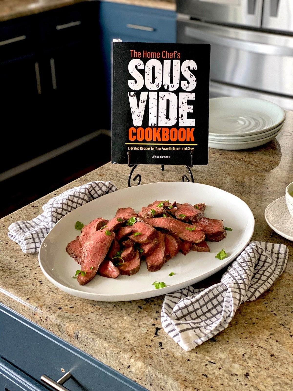 The home chef's sous vide cookbook with sous vide tri tip steak