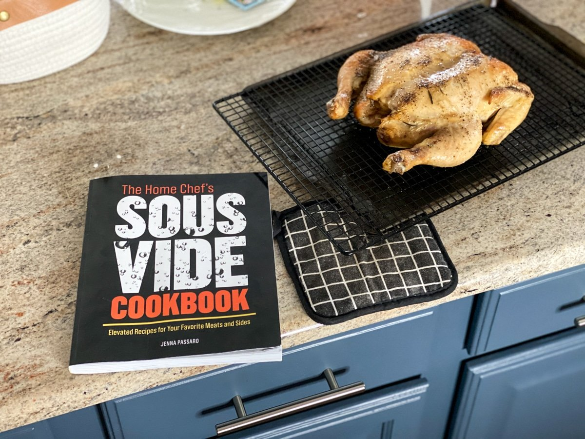 sous vide chicken and the home chef's sous vide cookbook