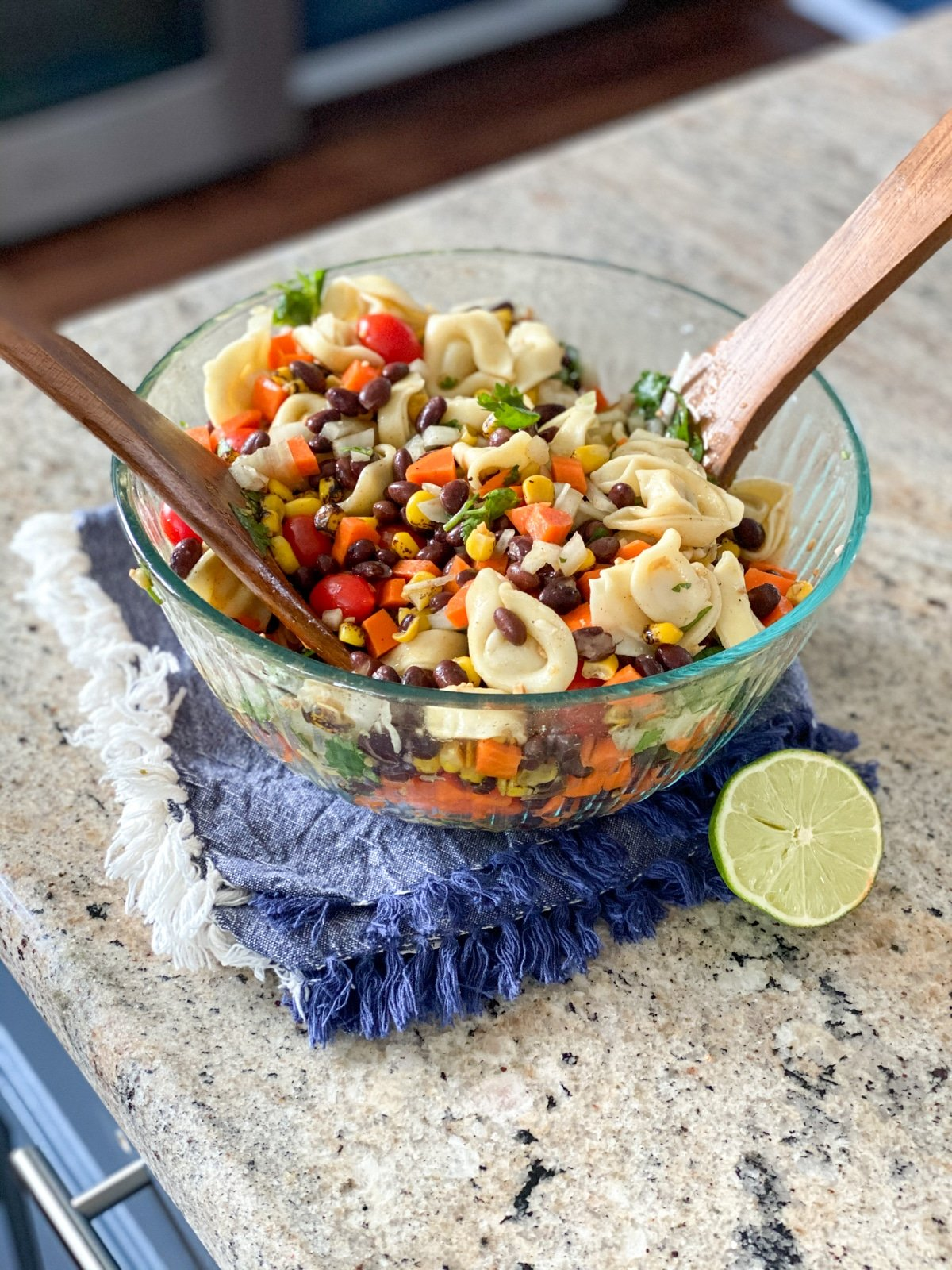Mexican pasta salad recipe for dinner