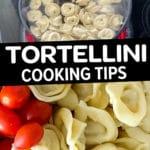 trader joe's tortellini cooking tips for pasta salad