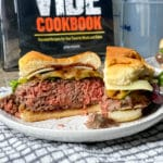 sous vide burgers for a crowd