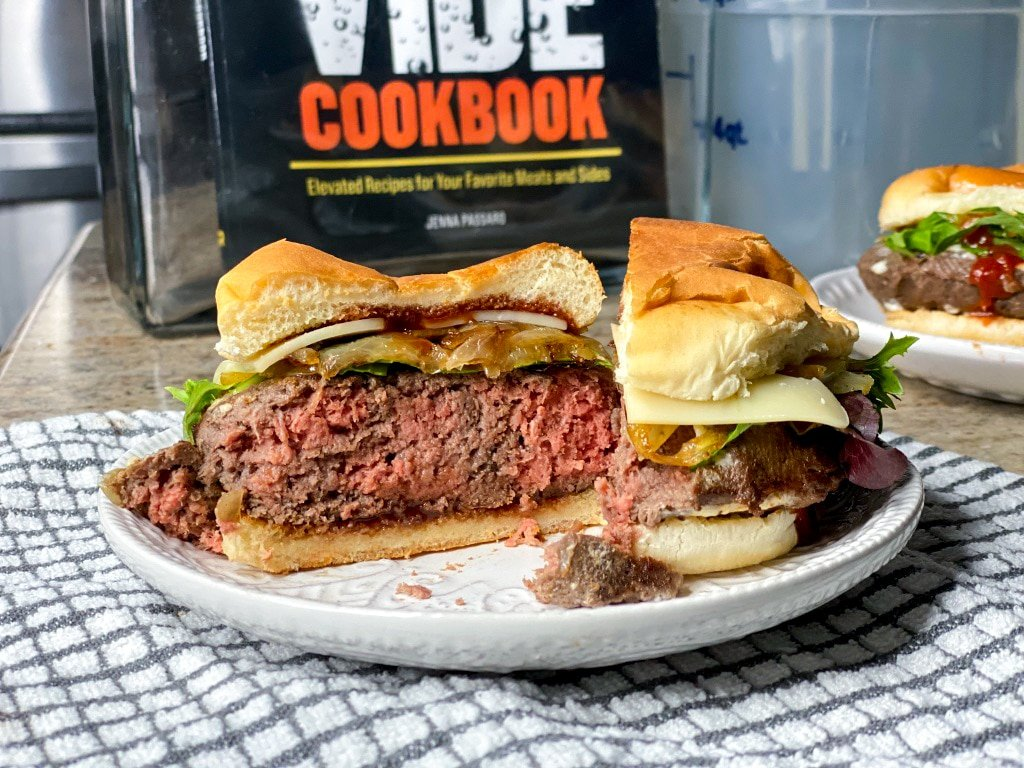 sous vide burgers for a crowd
