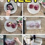 vacuum seal filet mignon step by step guide with The Home Chef's Sous Vide Cookbook