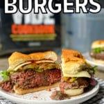 sous vide burger pinterest pin