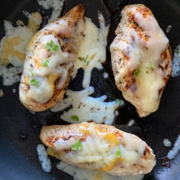 baking chicken with cheese