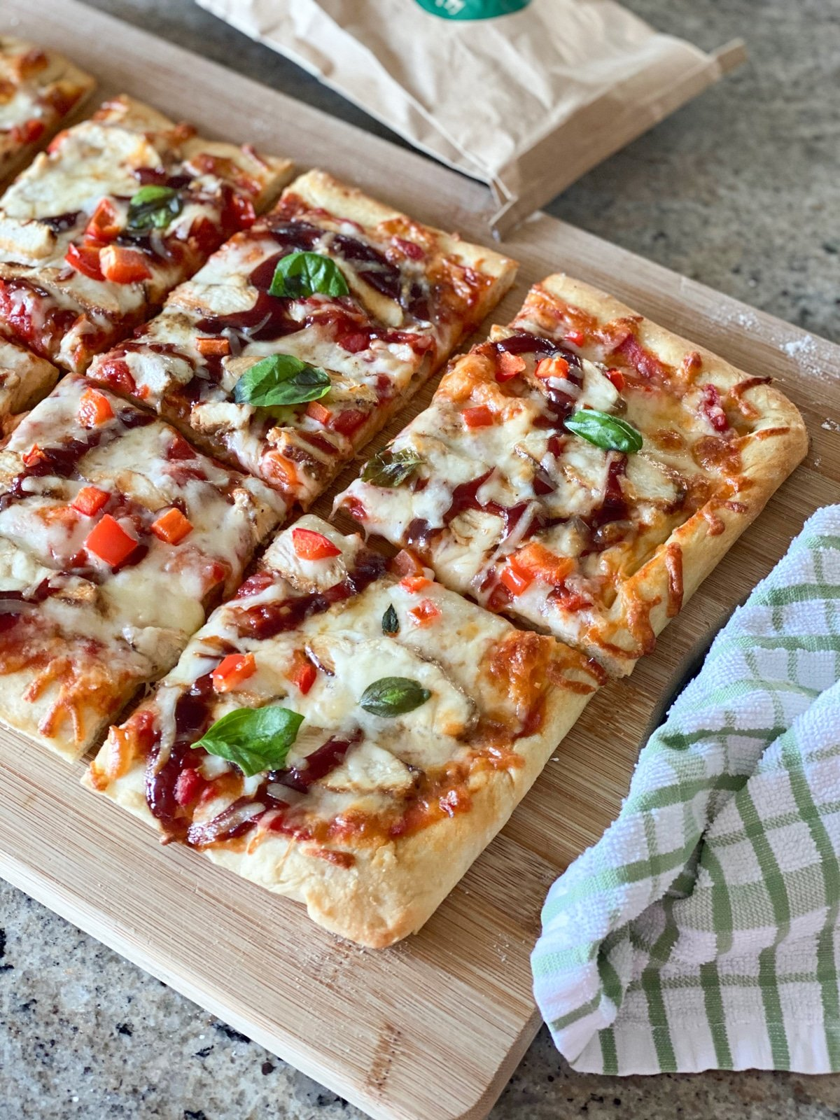 pizza with whole foods pizza dough