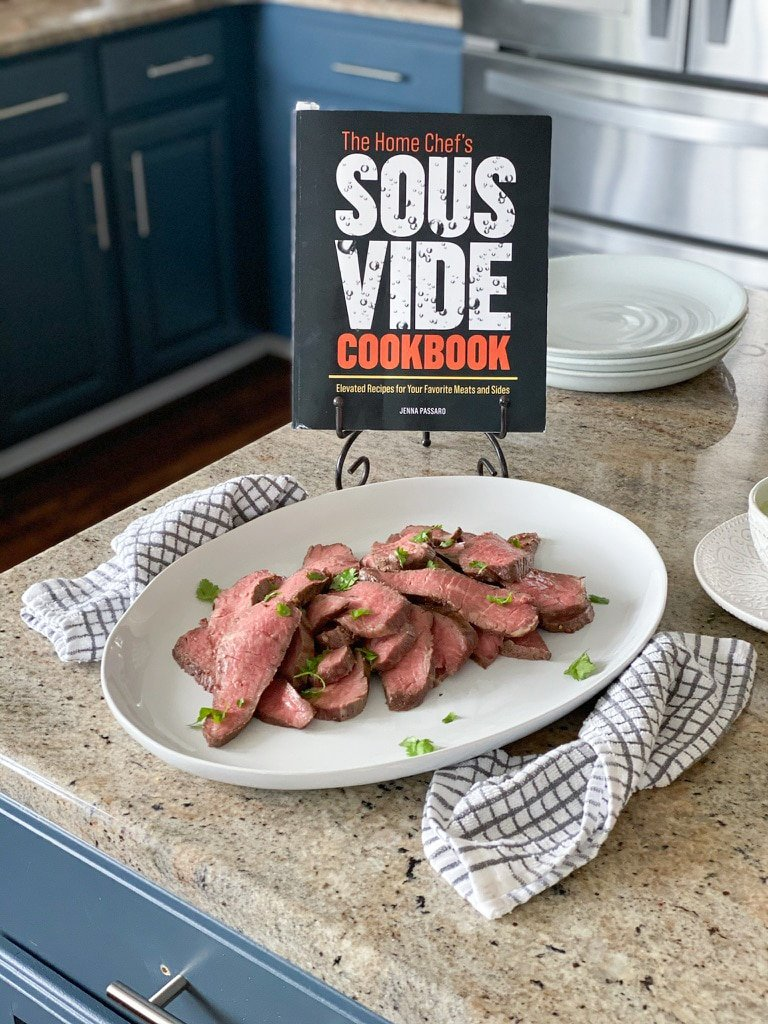 sous vide tri tip recipe from The Home Chef's sous vide cookbook