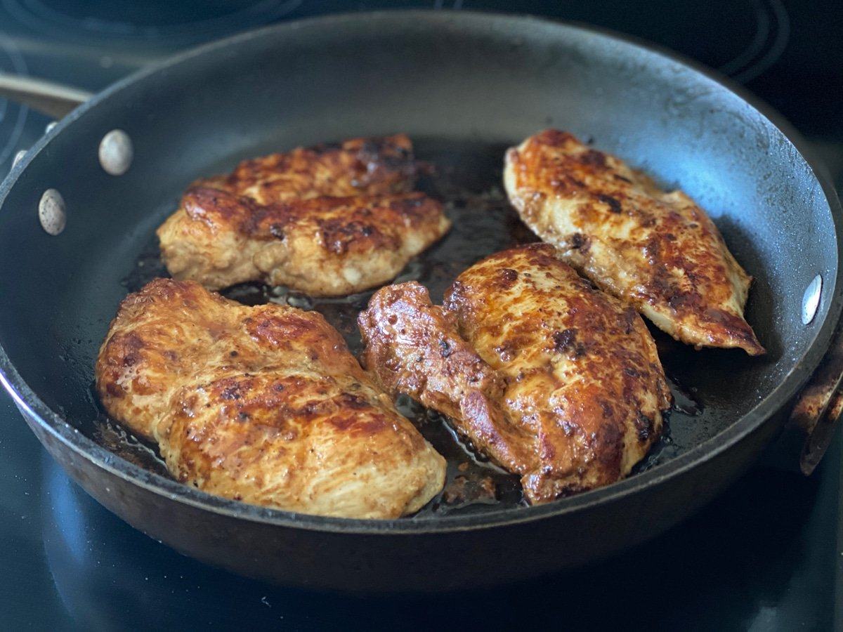 Cooking Chicken Breasts In Balsamic Dressing