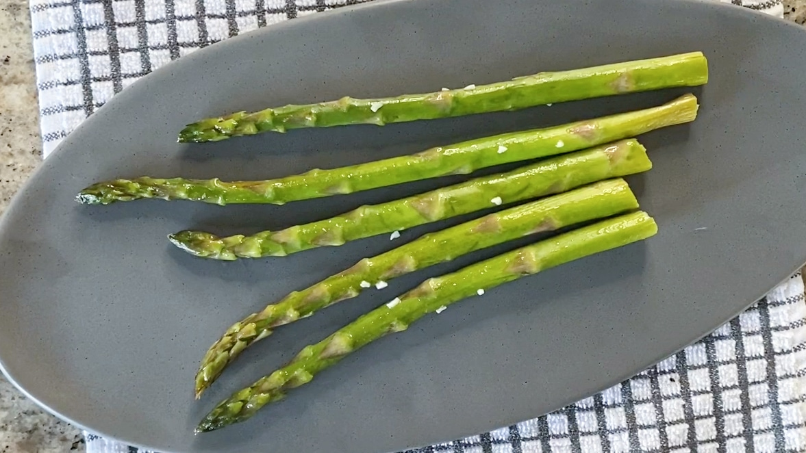 final asparagus sous vide cook