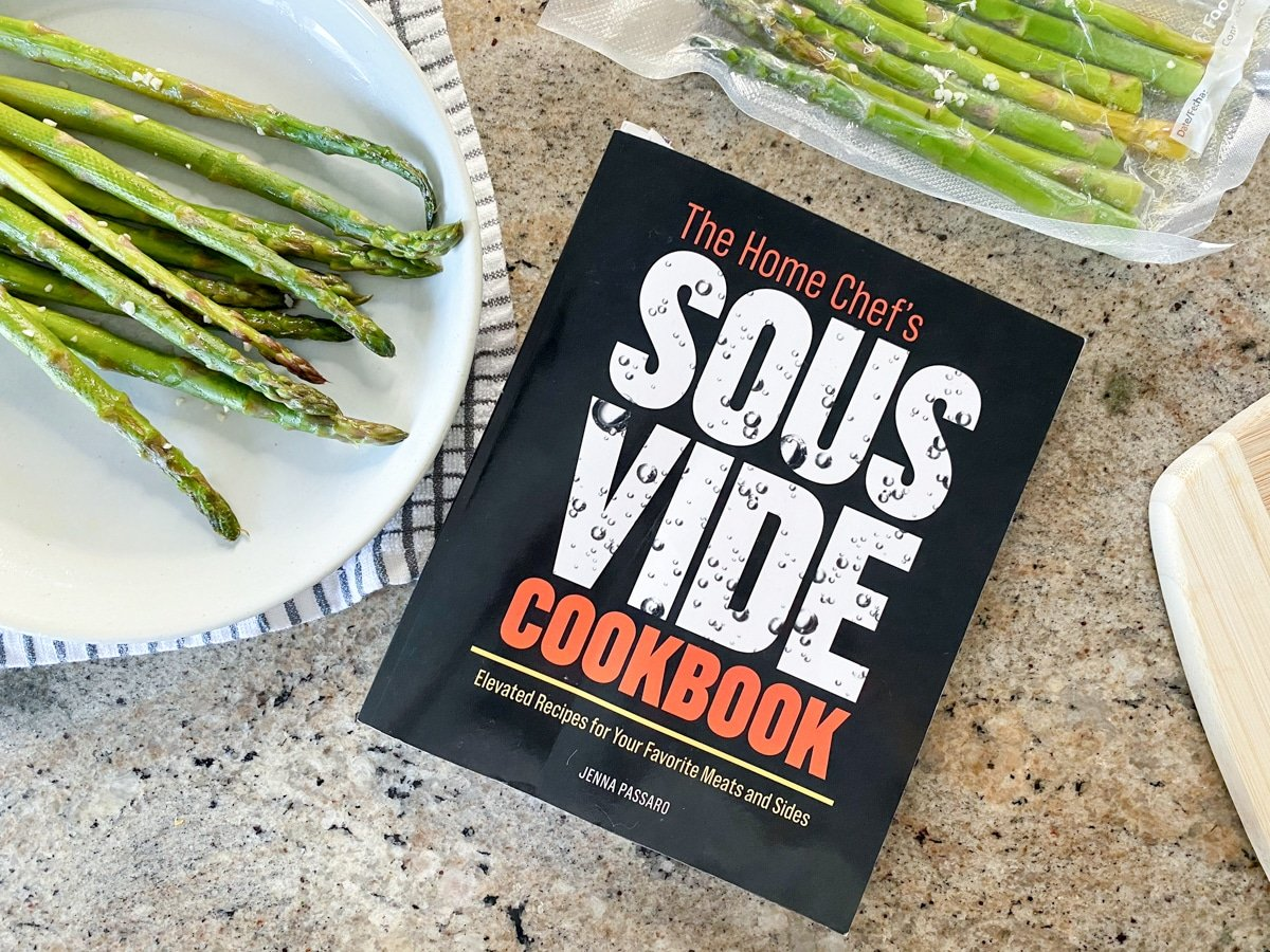 sous vide side dish with the home chef's sous vide cookbook