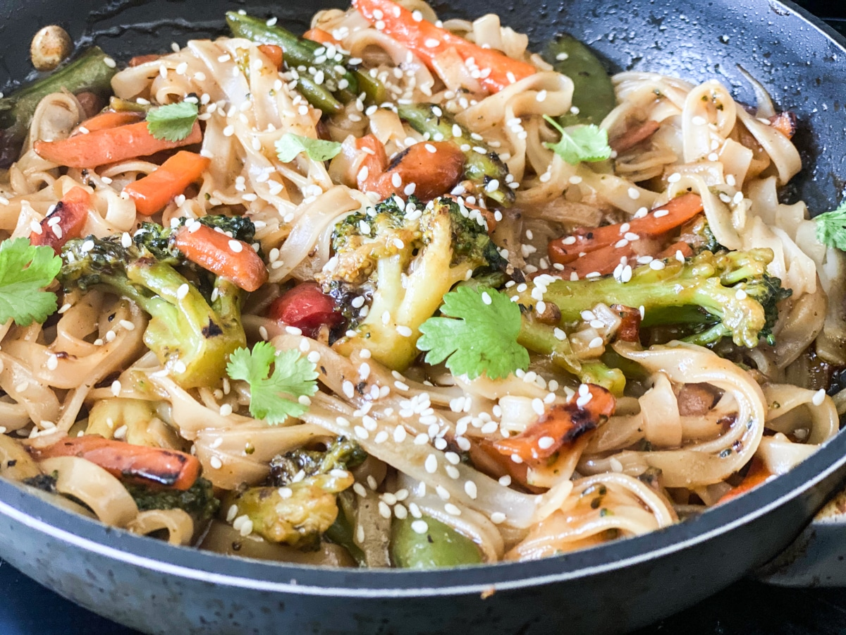 making a stir fry in under 30 minutes