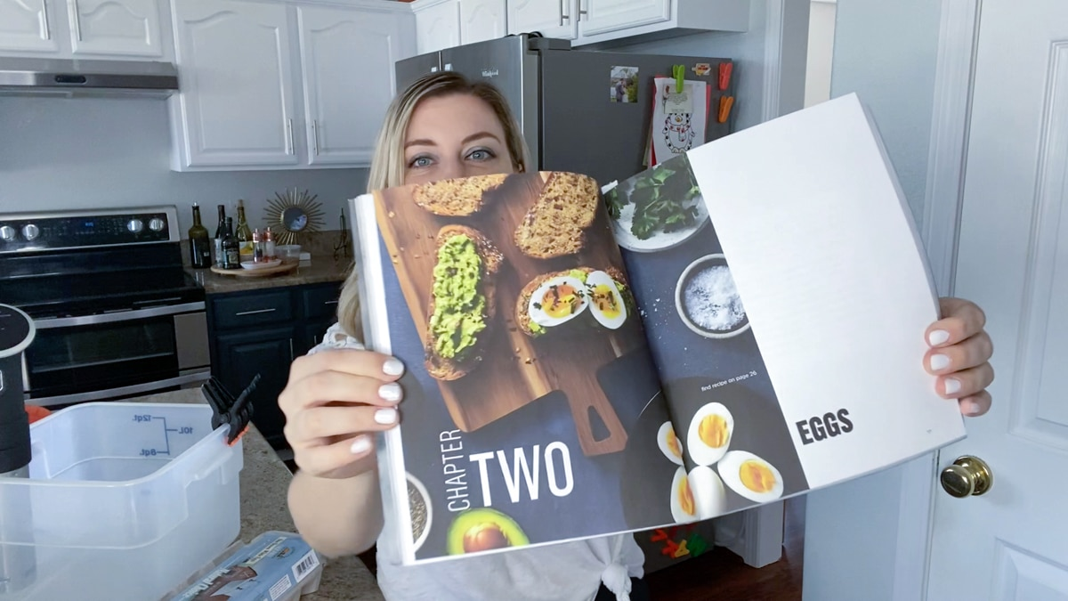 The Home Chef's Sous Vide Cookbook chapter on sous vide eggs recipes