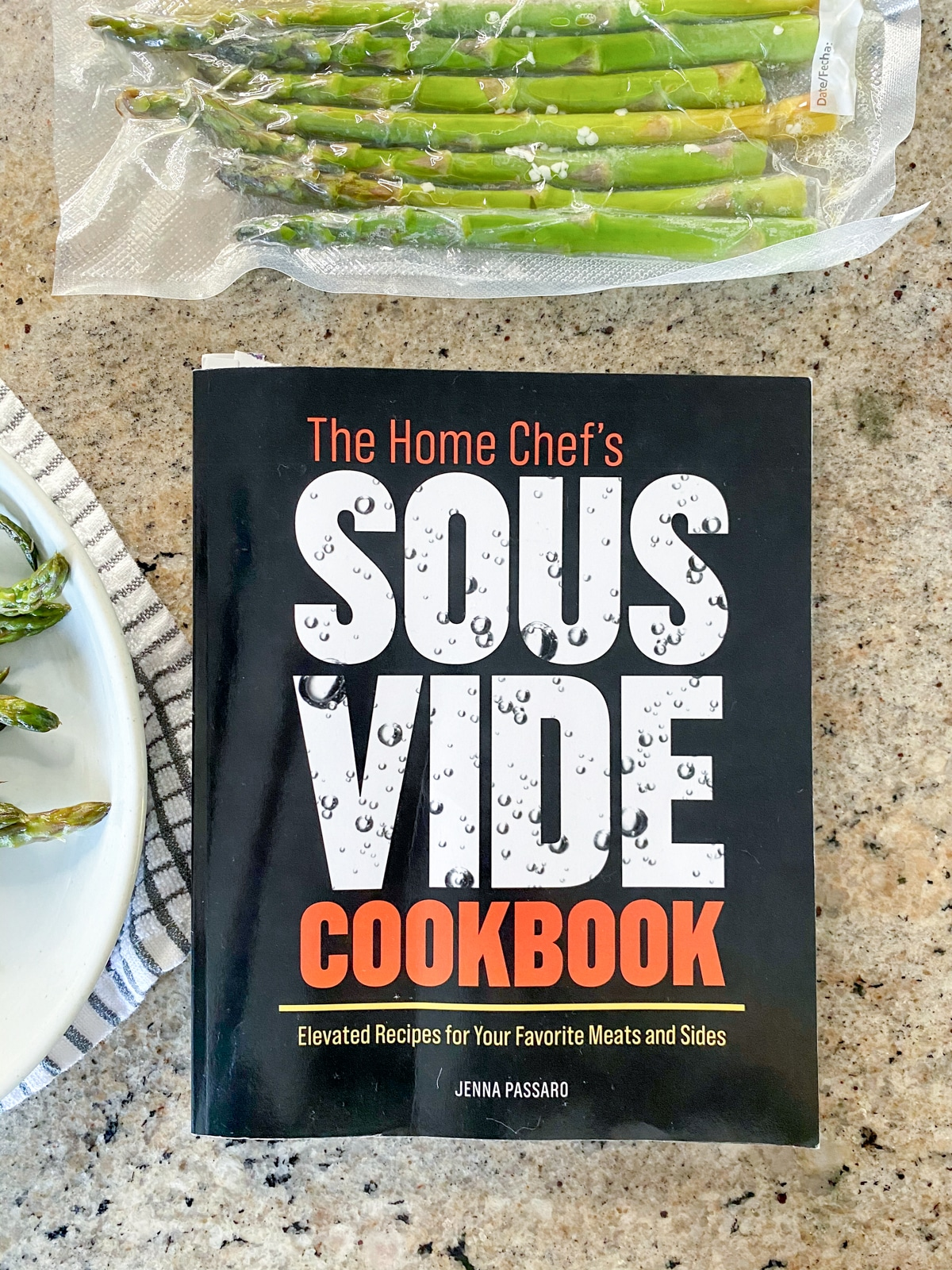 Sous Vide Asparagus with The home chef's sous vide cookbook