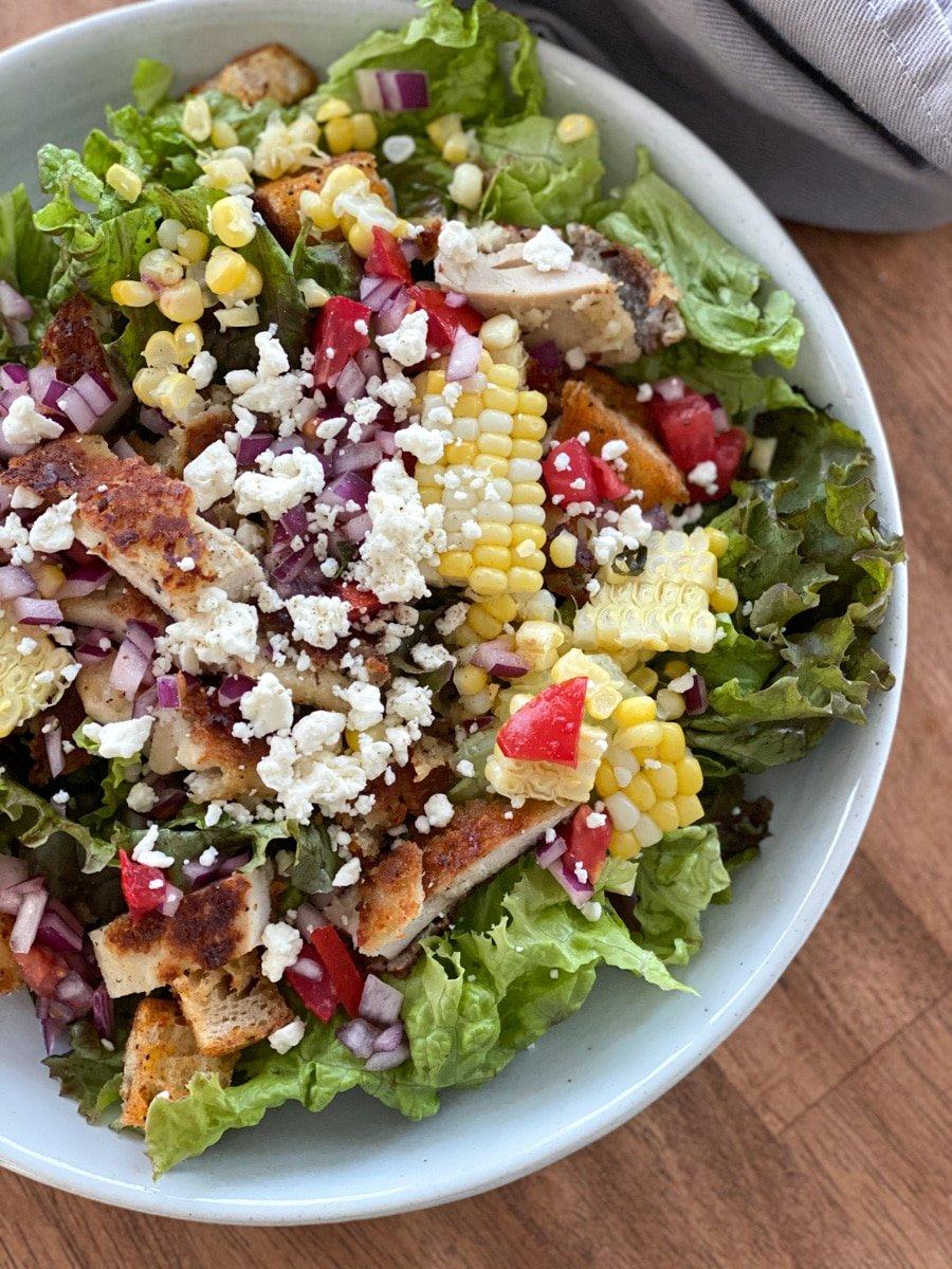 jalapeno ranch sauce on salads