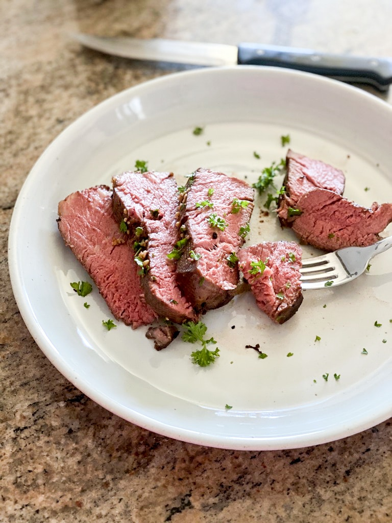 perfectly cooked sous vide filet mignon recipe