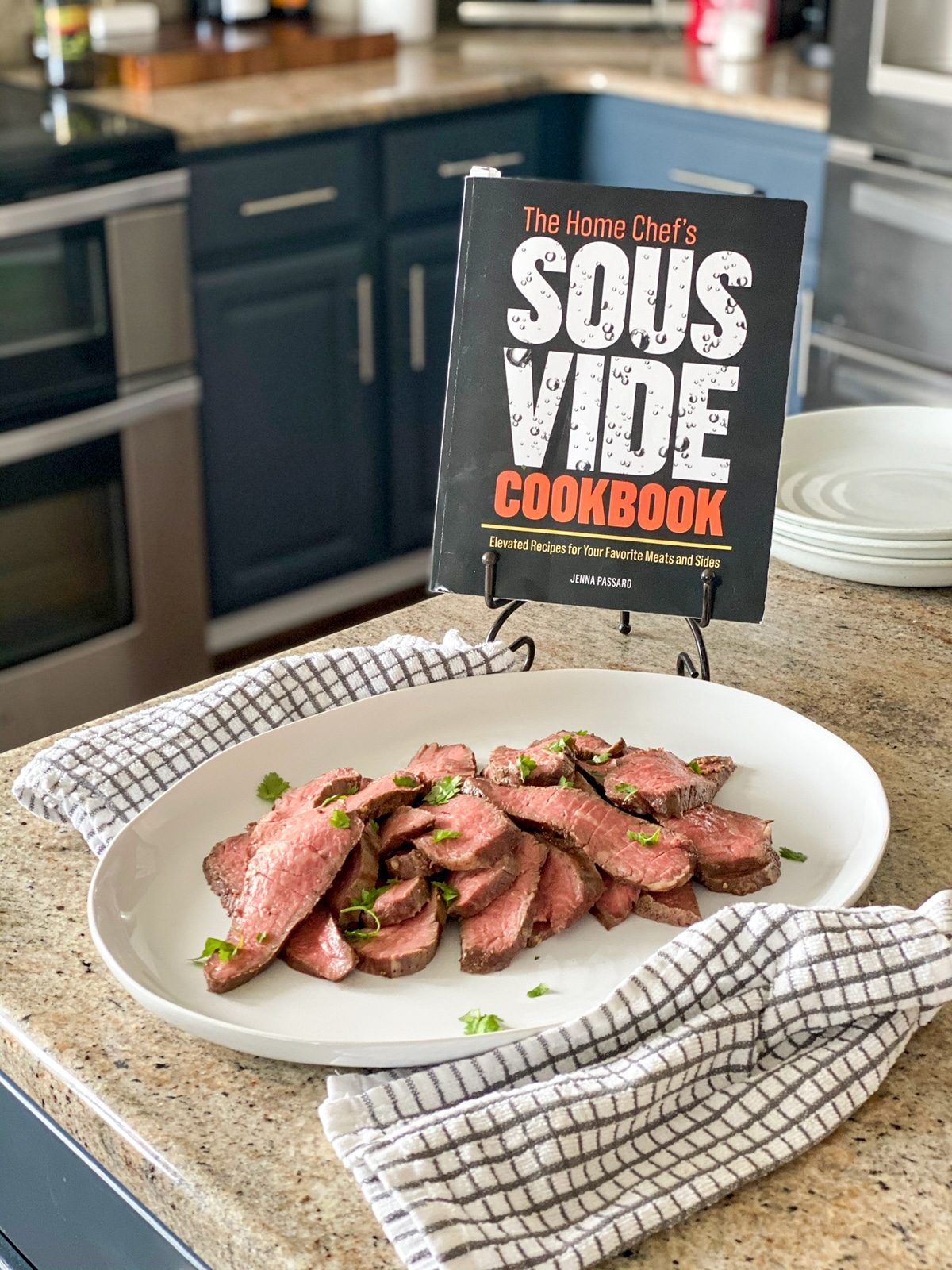sous vide tri tip beef recipe and the home chef's sous vide cookbook