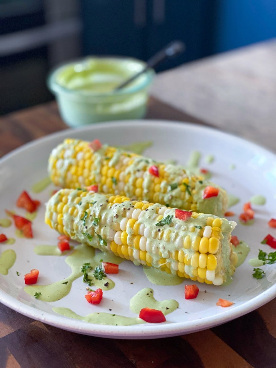 sous vide sweet corn on the cob from frozen