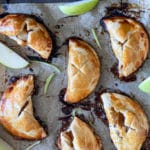 baked mini handheld apple pie desserts