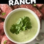 Jalapeno Ranch Sauce For Meats Pinterest pin